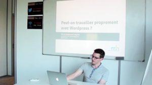 Vidéo : travailler proprement avec WordPress