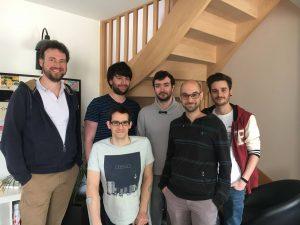 L'équipe d'Imagile dans ses locaux