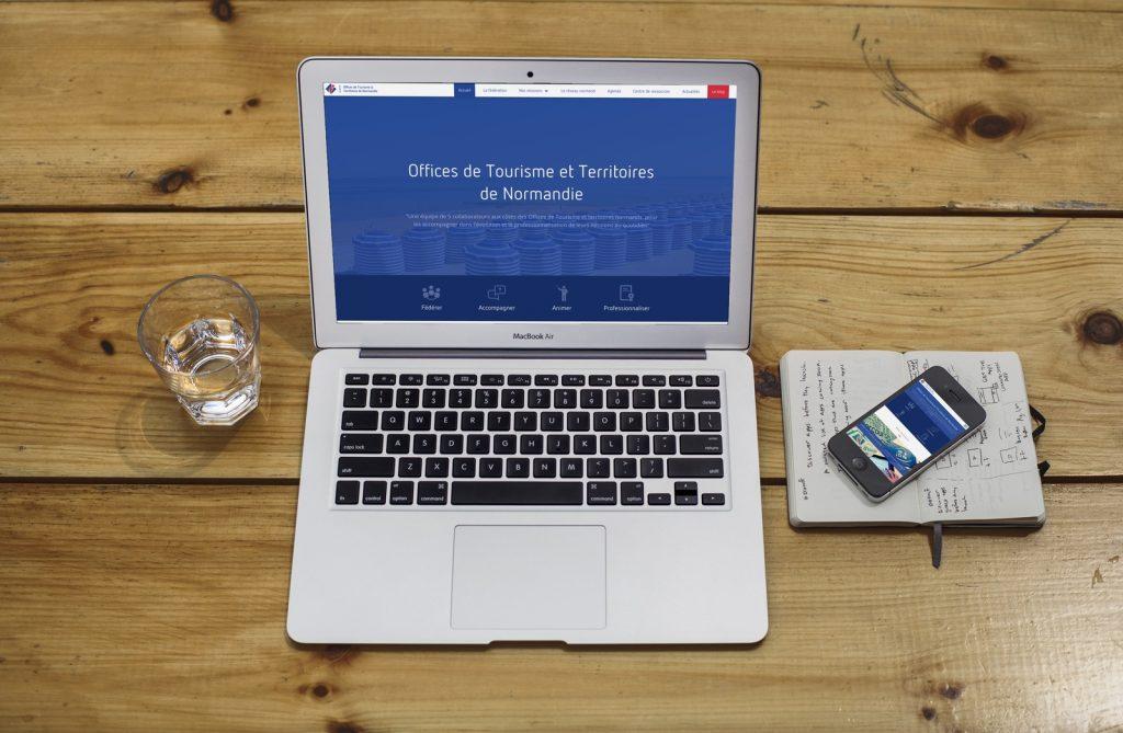 OTT Normandie réalisé avec WordPress