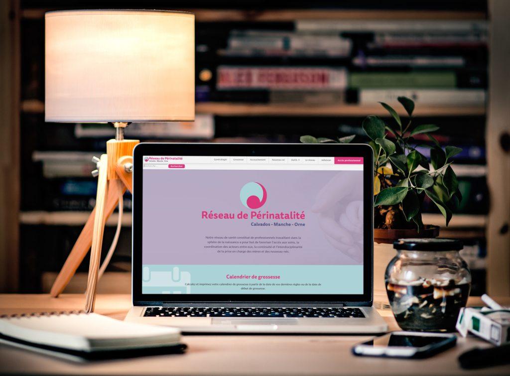 Réseau de Périnatalité de Basse-Normandie utilise WordPress