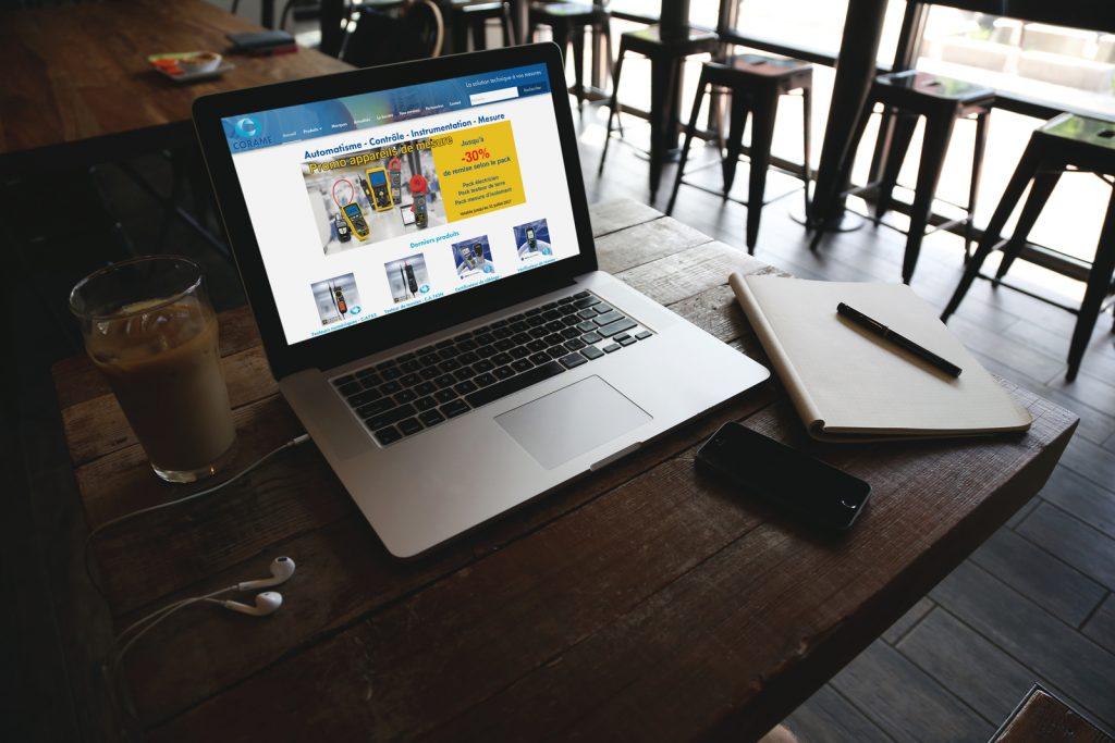 La Corame utilise le CMS WordPress