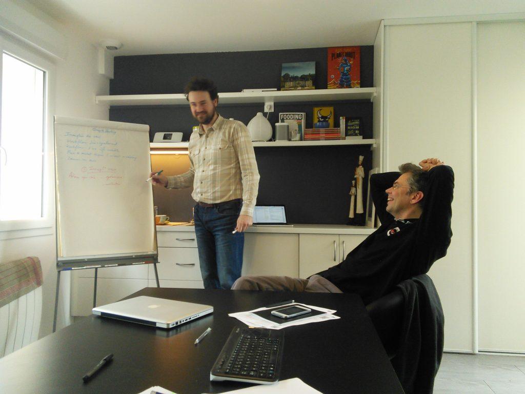 Philippe Joubert et Marc Houssaye
