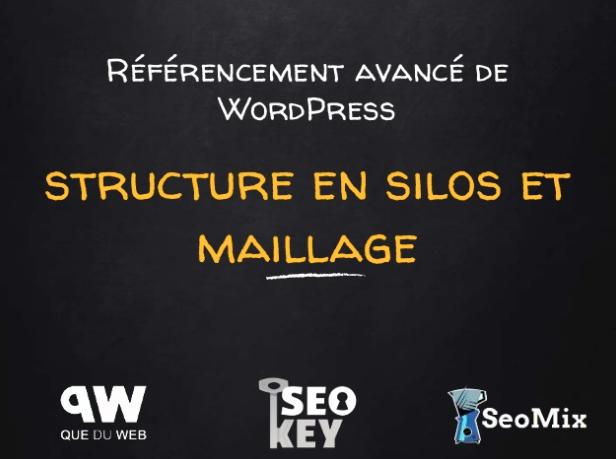 Référencement en silo avec WordPress