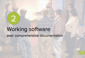 Un logiciel qui fonctionne plus qu'une documentation exhaustive.