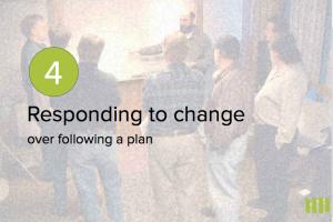 L'adaptation au changement plus que le suivi d'un plan.