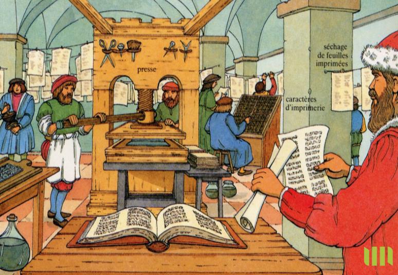 L'imprimerie de Gutenberg et l'uberisation de la Bible