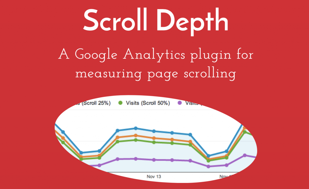 Scroll Depth, a Google Analytics plugin for measuring page scrolling