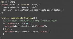 Fonction javascript