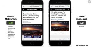 Progressive Web App du Washington Post