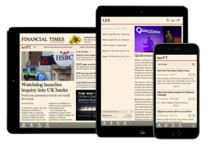 Progressive Web App du Financial Times