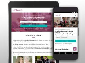 Nouveau site responsive pour Vitalliance