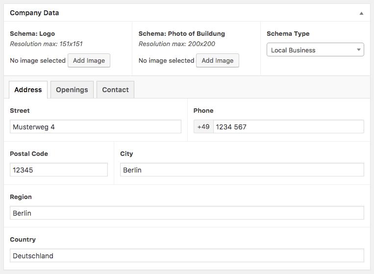 Schéma data données pour le SEO et WordPress