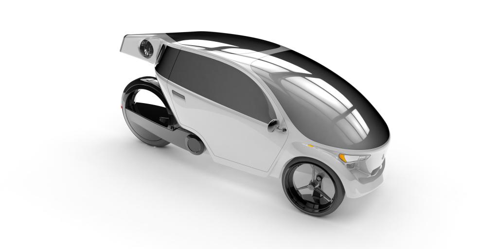 Coanda , véhicule hybride de la société Cixi