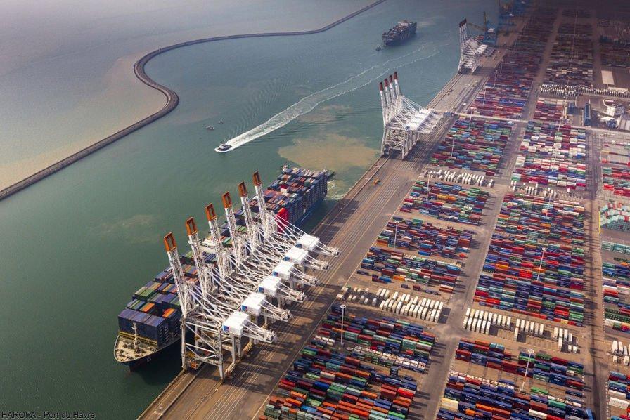 Port du Havre logiciel pour manutention