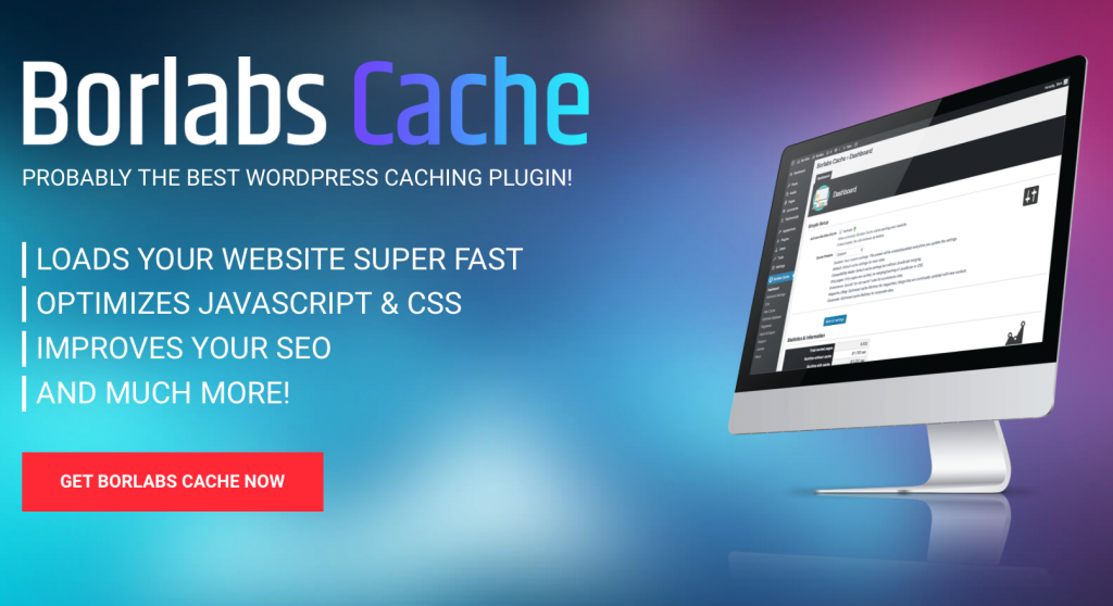 Borlabs Plugin Cache pour Wordpress