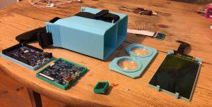 Composants pour un casque de réalité virtuelle