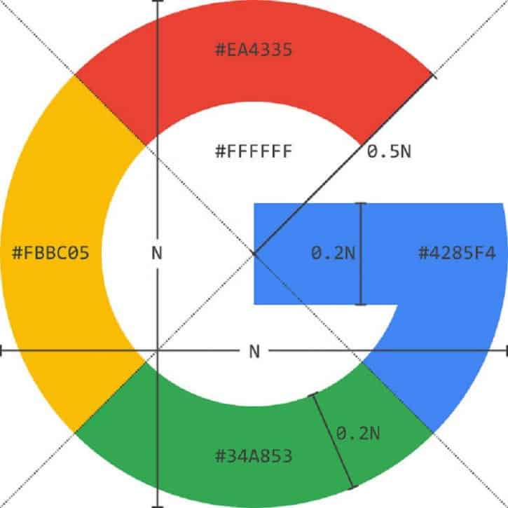 google logo architecture