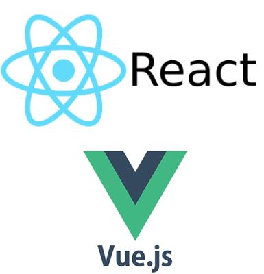 Logos React Vue.JS