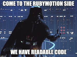 ruby motion développement mobile